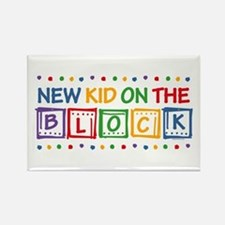 New Kid on the Block Rectangle Magnet