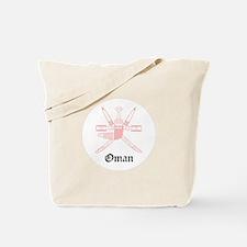 Omani Coat of Arms Seal Tote Bag