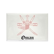 Omani Coat of Arms Seal Rectangle Magnet