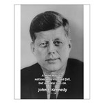 Power of the Idea JFK Small Poster