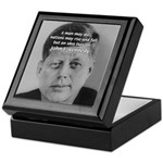 Power of the Idea JFK Keepsake Box