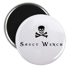 "Saucy Wench 2.25"" Magnet (100 pack)"