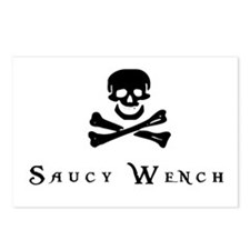 Saucy Wench Postcards (Package of 8)