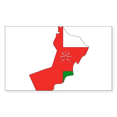 Omani Rectangle Sticker