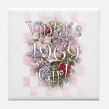 1969 Tile Coaster