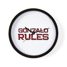 gonzalo rules Wall Clock