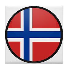 Norway Tile Coaster