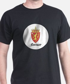 Norwegian Coat of Arms Seal T-Shirt