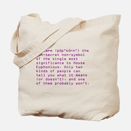HE Popcorn Tote Bag