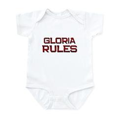 gloria rules Infant Bodysuit