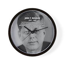 American Politics JFK Wall Clock