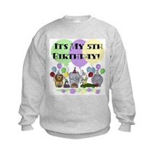 Zoo 5th Birthday Sweatshirt