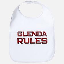 glenda rules Bib