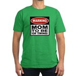 Mom To Be Twins Men's Fitted T-Shirt (dark)
