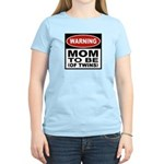Mom To Be Twins Women's Light T-Shirt