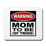 Mom To Be Twins Mousepad