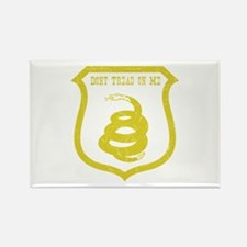 Dont Tread Shield Distressed Rectangle Magnet