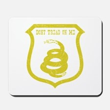 Dont Tread Shield Distressed Mousepad