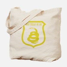 Dont Tread Shield Distressed Tote Bag