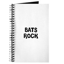 BATS ROCK Journal