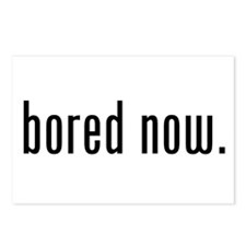 Bored Now Postcards (Package of 8)