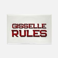 gisselle rules Rectangle Magnet