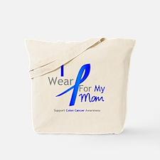 Colon Cancer Mom Tote Bag