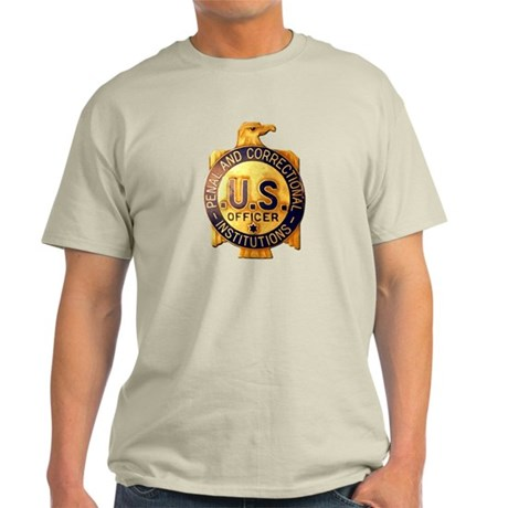 Federal Prison Officer Light T-Shirt