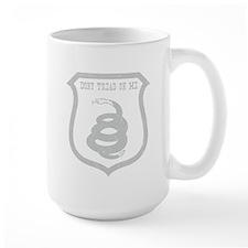 Dont Tread Shield Distresssed Mug