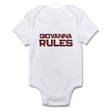 giovanna rules Infant Bodysuit