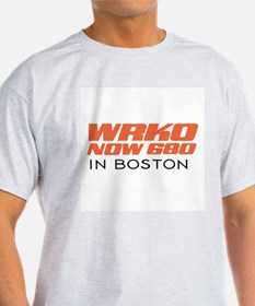 WRKO Boston 1967 -  Ash Grey T-Shirt