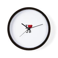 I [heart] Jonas Wall Clock