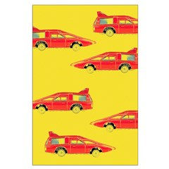 Red Pop Art Cars Posters