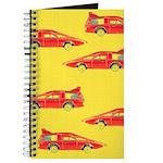 Red Pop Art Cars Journal