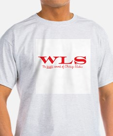 WLS Chicago 1961 -  Ash Grey T-Shirt
