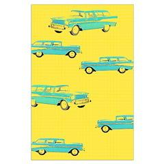 Blue Cars Pop Art Posters