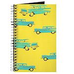 Blue Cars Pop Art Journal