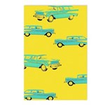 Blue Cars Pop Art Postcards (Package of 8)