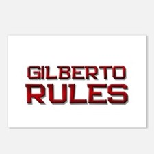 gilberto rules Postcards (Package of 8)