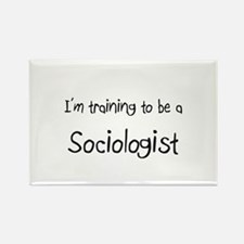 I'm training to be a Sociologist Rectangle Magnet