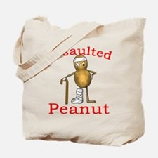 Assaulted Peanut Tote Bag