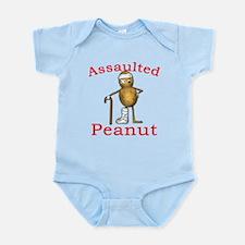 Assaulted Peanut Infant Bodysuit
