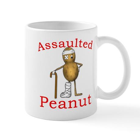 Assaulted Peanut Mug