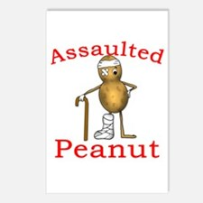Assaulted Peanut Postcards (Package of 8)