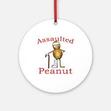 Assaulted Peanut Ornament (Round)