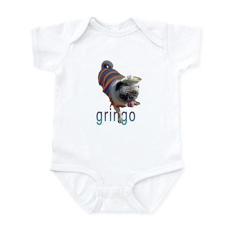 Gringo Pug Infant Bodysuit