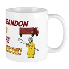 Brandon to the Rescue Small Mug