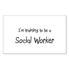 I'm training to be a Social Worker Decal