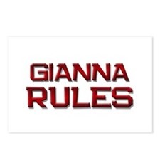 gianna rules Postcards (Package of 8)
