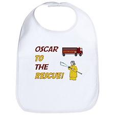Oscar to the Rescue Bib